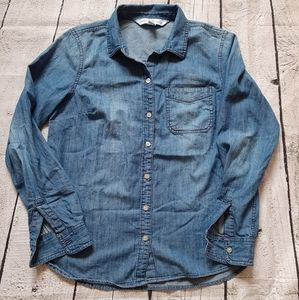 Old Navy Tops - 3/$30-Old Navy Denim Shirt
